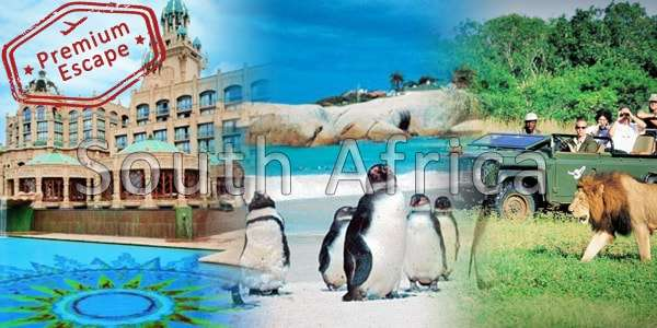 9 Nights South Africa Premium Escape Tours Packages from India
