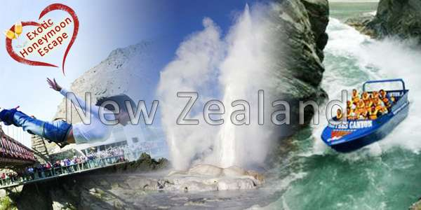14 Nights New Zealand Exotic Honeymoon Escape Tourism Holiday Packages